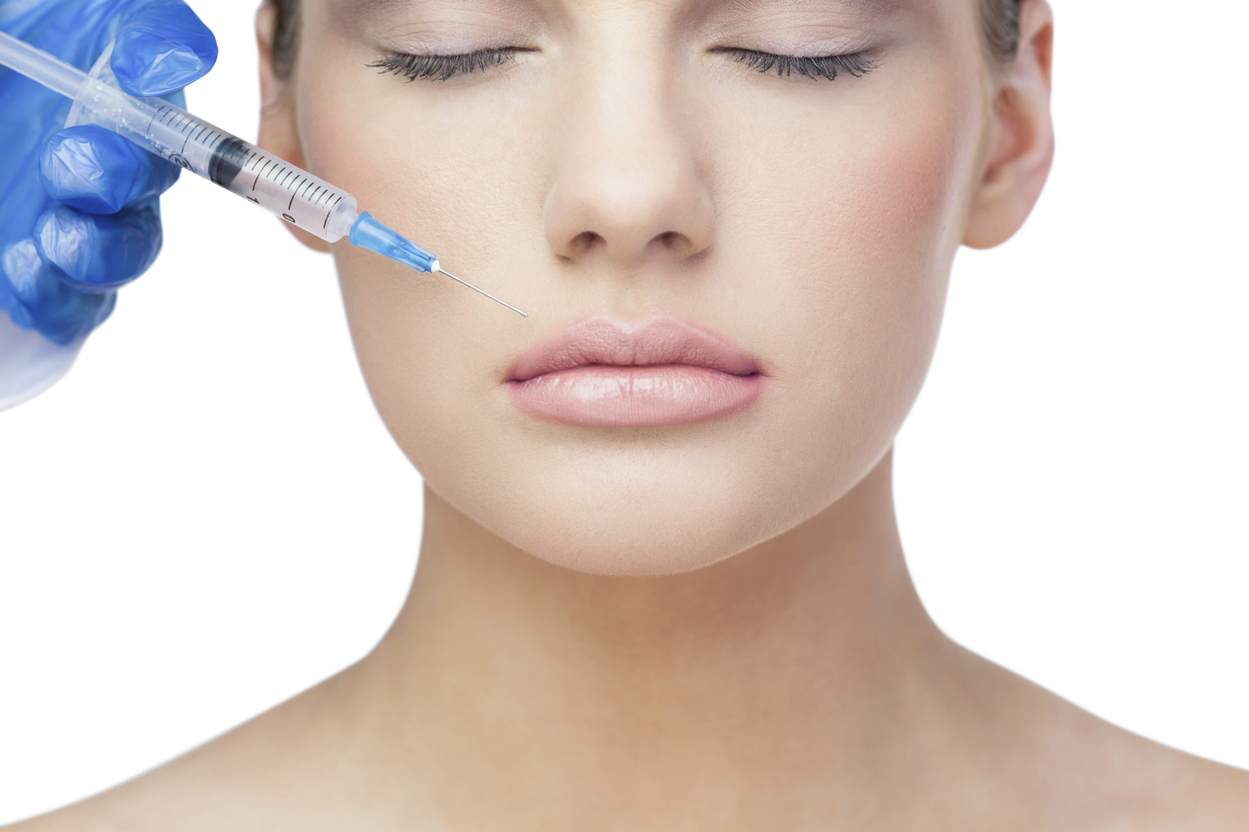 Dermal filler treatment in a professional practice